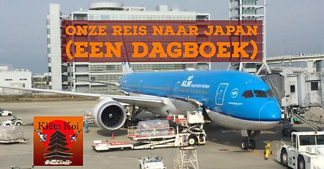 Dagboek van onze reis naar Japan - Kiëta Koi Veendam