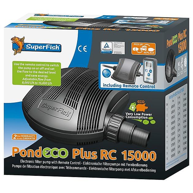 Pond Eco Plus RC 15000 - Kiëta Koi Veendam