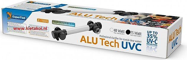 SuperFish Alutech UV-C T5 75W - Kiëta Koi Veendam