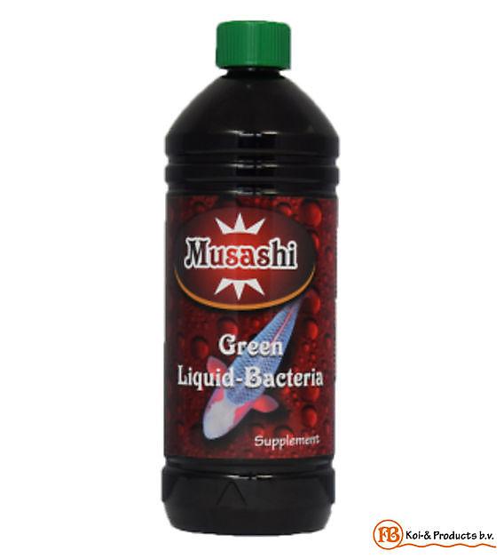 Green Liquid Bacteria 1 Liter - Kiëta Koi Veendam