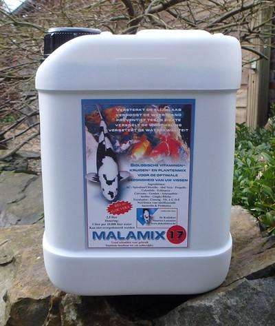 MALAMIX 17 / 2500 ml - Kiëta Koi Veendam